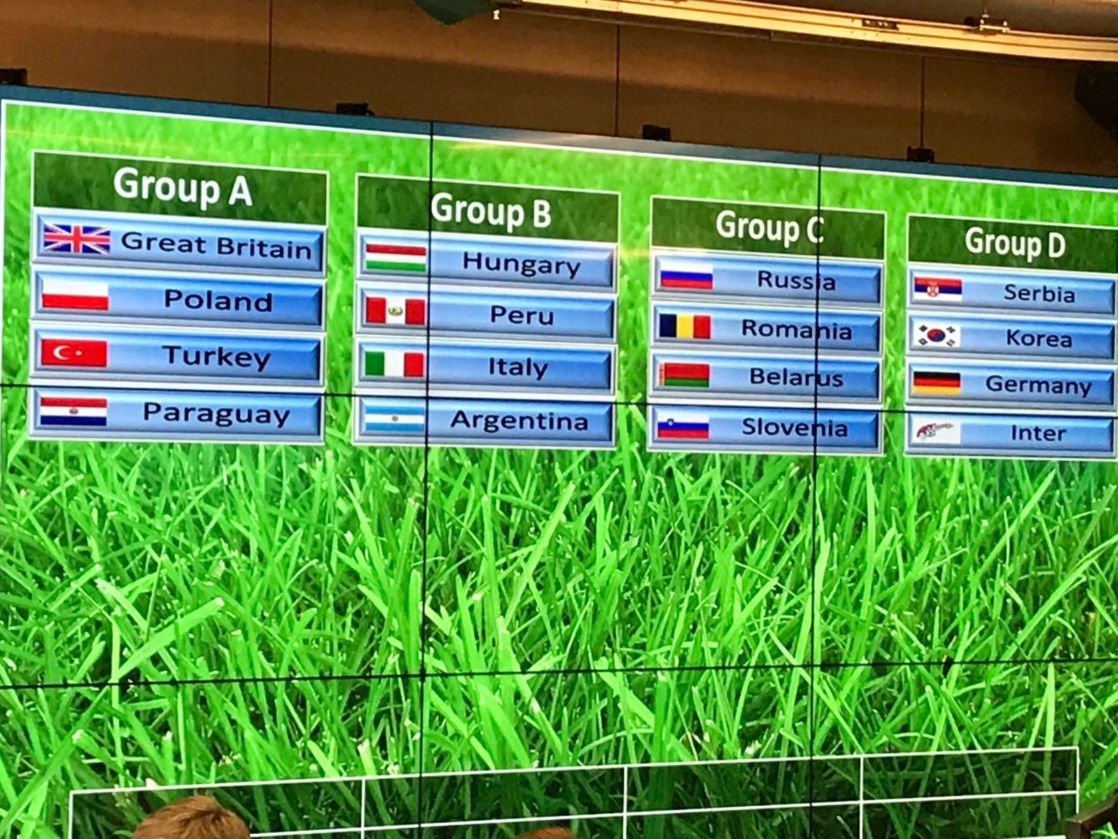 Russia 2018 Artootball Mondiale degli Artisti