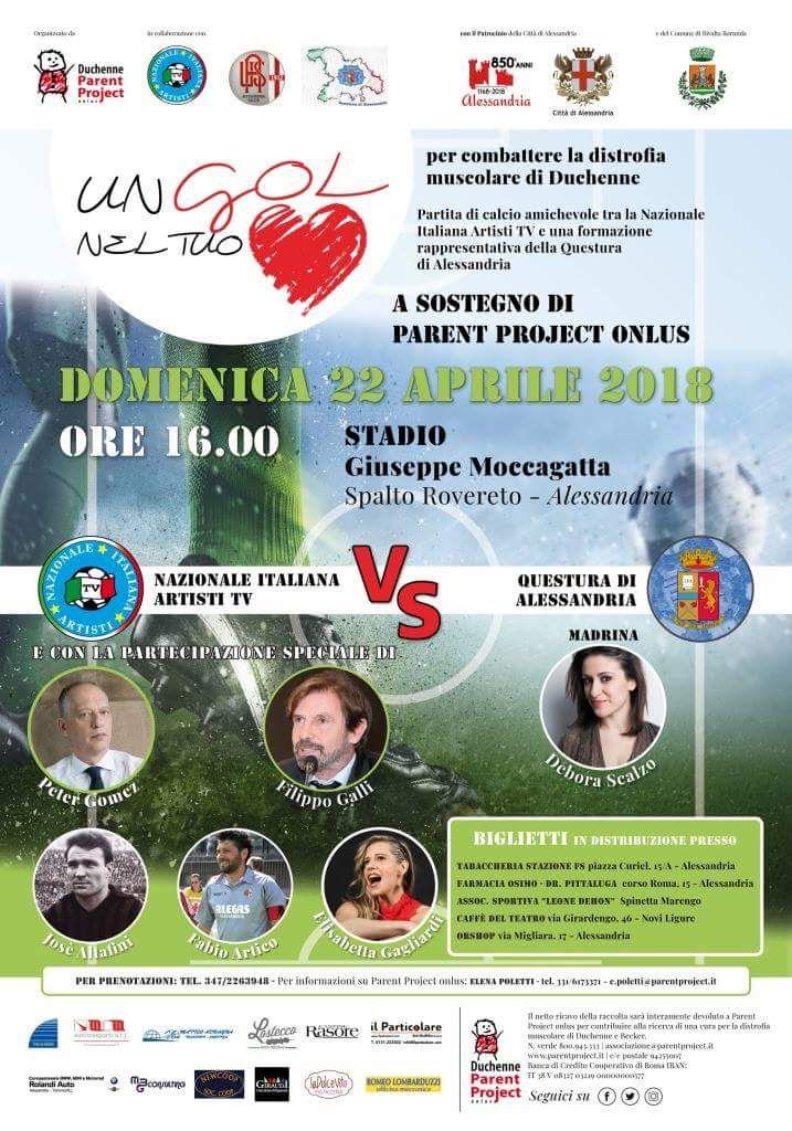 Domenica 22 aprile stadio Moccagatta di Alessandria