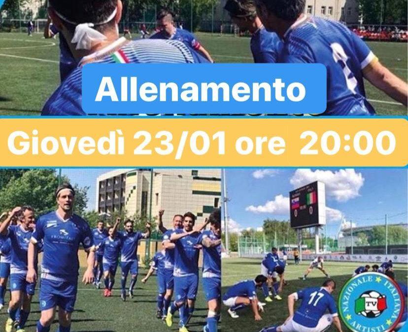 Giovedì 23 gennaio ore 20:00 Centro Sportivo Scarioni Milano
