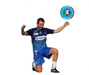 Alessandro Sansone centrocampista della Nazionale e speaker di Radio105